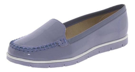 Mocassim Feminino Jeans Moleca - 5613310