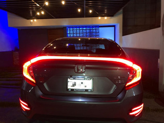Spoiler Iluminado Honda Civic Sedan 2016 - 2018