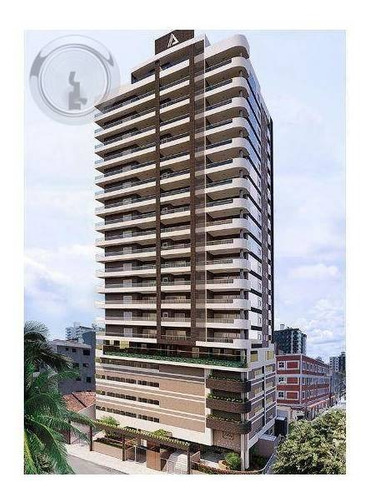 Imagem 1 de 13 de Apartamento 3 Dormitórios - 143 M² R$ 1.135 - Canto Do Forte - Praia Grande/sp - Ap0018