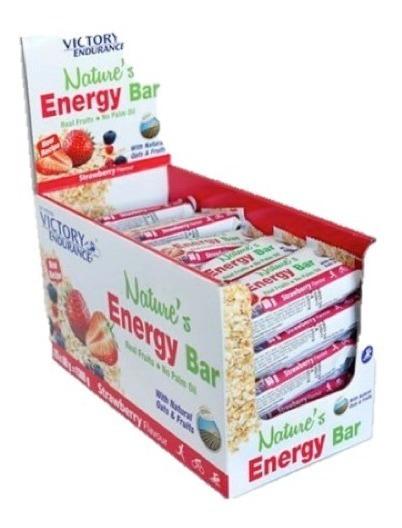 Barra Energética - Avena Y Frutas Bajo En Proteinas - 100% Natural - 39 Grs De Carbohidratos! Victory