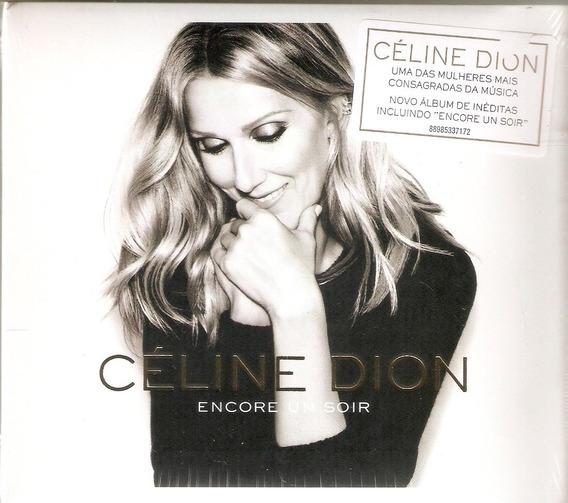 Cd Céline Dion - Encore Un Soir - Novo***