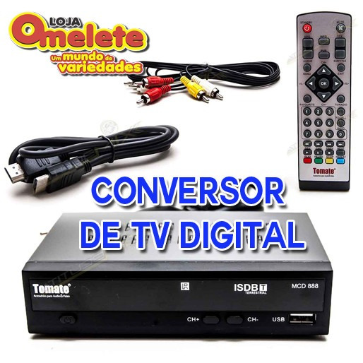 Conversor Digital Full Hd Gravador Mcd-888 Tv Hdmi Usb Fotos