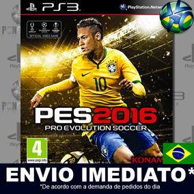 Pes 2016 Ps3 Midia Digital Em Português Envio Imediato