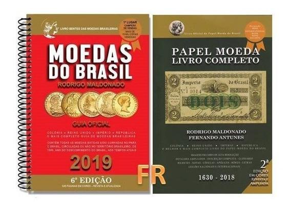 2 Catalogos Bentes Moedas E Cédulas Frete Grátis