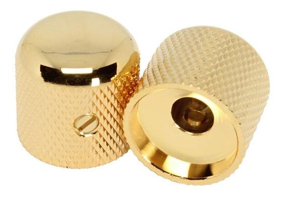 Knob De Metal Gotoh Vk1-19 Dourado C/ Parafuso