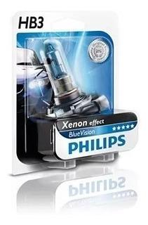 Lampara Philips Blue Vision 9005 Hb3 Philips Hb39005bv