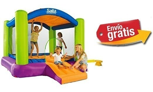 Brincolin Castillo Inflable 2.5 X 2.5 Mts, C/ Motor Inflable