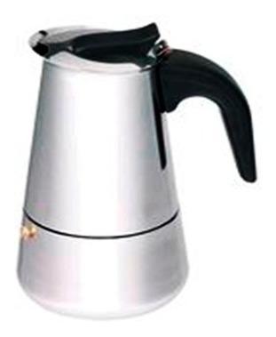 Cafetera 4 Tazas Ss Induccion Barista