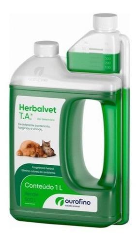 Herbalvet Higienizador De Ambientes Ouro Fino 1 Litro