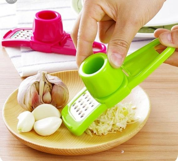 Ralador Triturador De Alho Gengibre Utilidades Cozinha
