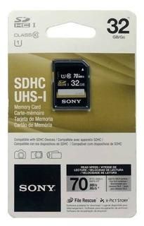 Sd Sdhc Sony 32gb Classe 10