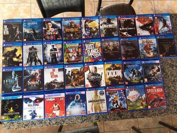 Coleção Jogos Playstation (valores Individuais Na Descrição)