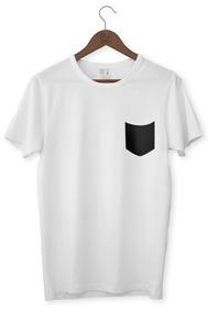 Camiseta Masculina Bolso