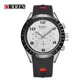Relógio Curren Homem Modelo 8167 De Luxo Esportivo Top