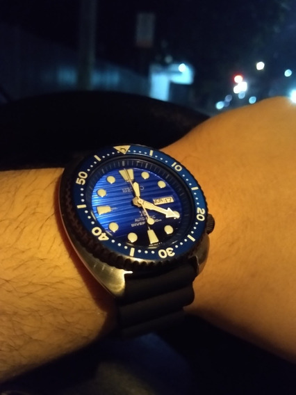Relógio Seiko Turtle Save The Ocean