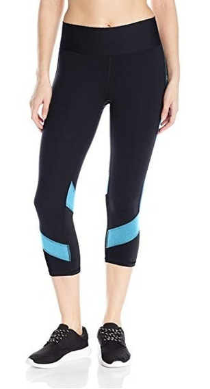 Champion Absolute Colorblock Leggings Capri Dama Xs