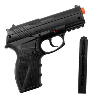 Pistola De Chumbinho Pressão Co2 Rossi C11 4.5mm Win Gun Nfe