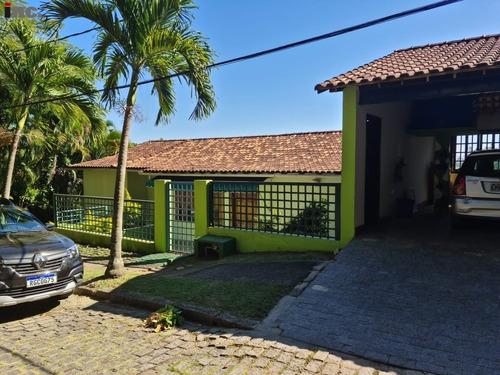 Imagem 1 de 30 de Excelente Casa Em Condomínio No Itanhangá - 4 Quartos (2 Suítes) - 703m² De Área Construída. - Itan-vp Q - 69801244