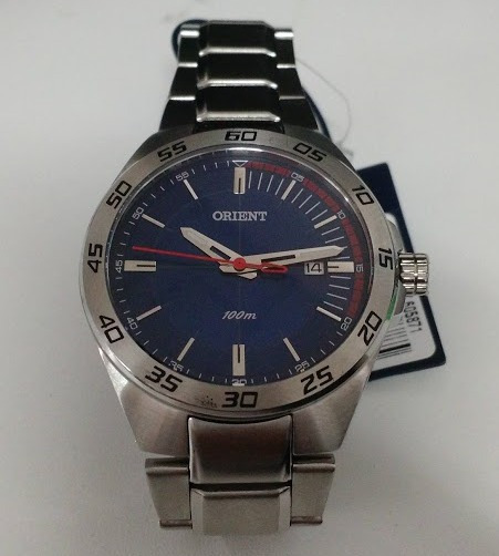 Relógio Orient Masculino Sport Prata Analógico Mbss1299 Top