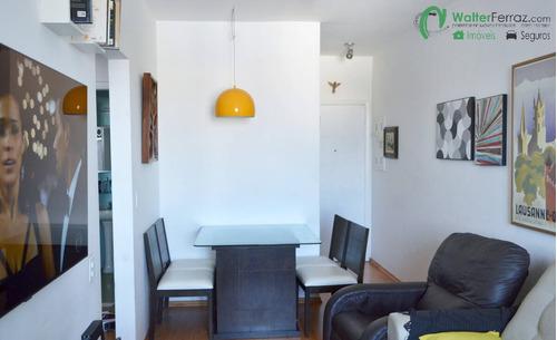 Excelente 2 Dormitórios No Bairro Do Boqueirão Em Santos. - 2519