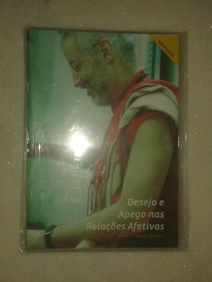 Dvd Desejo E Apego Nas Relações Afetivas - Lama Padma Samten