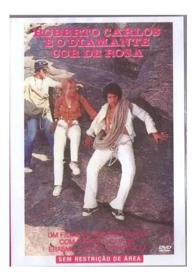 Dvd Filme Roberto Carlos E O Diamante Cor De Rosa