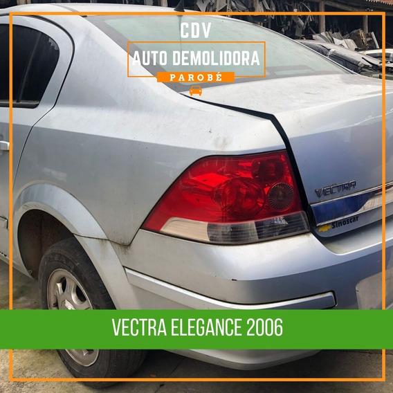 Sucata Gm Vectra Elegance 2.0 2005 Disponível Para Venda De Peças!
