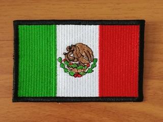 Parche Bordado Escudo Bandera De México 8cm X 5cm