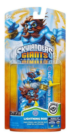 Boneco Skylanders Spyros Adventure Lightning Rod Para Ps3