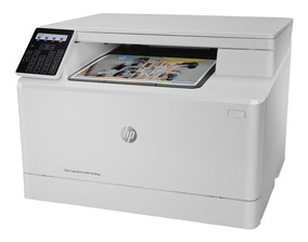Impressora Hp M180nw Multifuncional Color Laser 110v