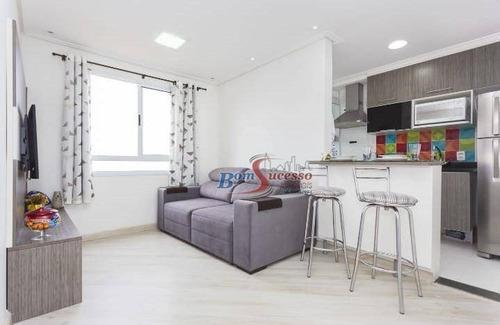 Apartamento Com 2 Dormitórios À Venda, 45 M² Por R$ 275.000,00 - Vila Alpina - São Paulo/sp - Ap2316