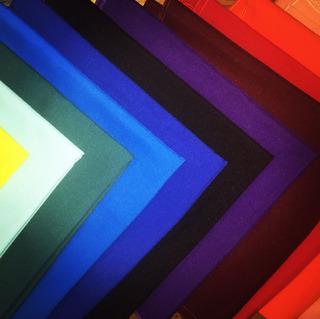 Cubre-mantel De Cualquier Color Cuadrado 1pza.