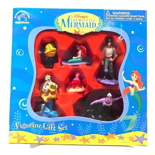 Imagen 1 de 1 de Disney La Sirenita Set De Figuras De Lujo Vintage Nuevo