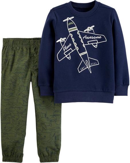 Conjuntos Carters Pantalón Y Buzo 2t 3t 4t 5t Niños Cuotas