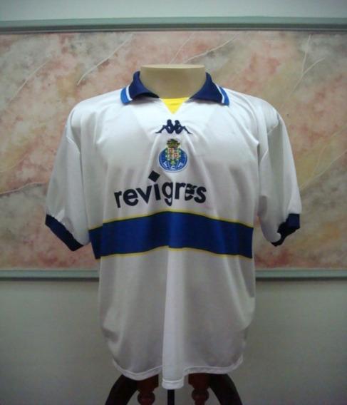 Camisa Futebol Porto Portugal Kappa Jogo Antiga 2285