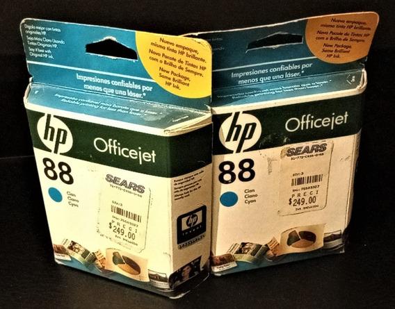 Hp 88 - 2 Cartuchos Originales Para Impresora Inkjet Baratos