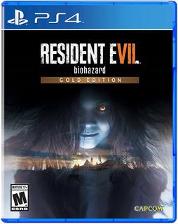 Resident Evil 7 Vii Biohazard Gold Edition Fisico Nuevo Ps4 Dakmor