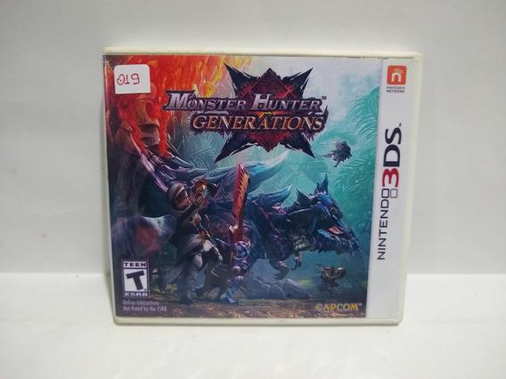 Jogo Monster Hunter Generations 3ds