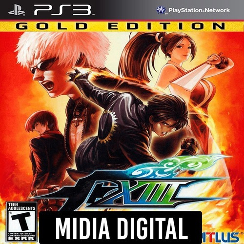 Ps3 Psn* - The King Of Fighters Kof 13 Xlll Gold Edition