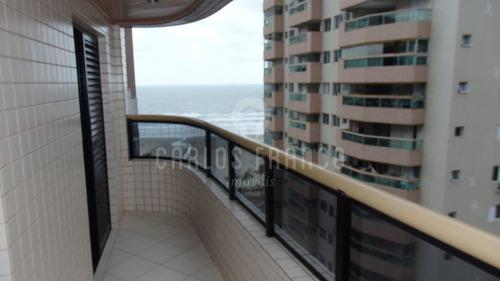 Imagem 1 de 15 de Apartamento 2 Dormitorios Vista Mar Aviação R$350.000 - Cf64089