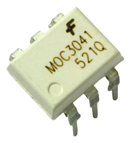 Pack X 5 Moc3041 Moc3041m Moc-3041 Opto Salida Triac Dip6