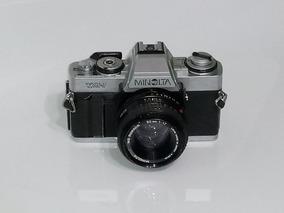 Câmera Profissional Minolta Xg-1 Slr - Para Colecionador!!!