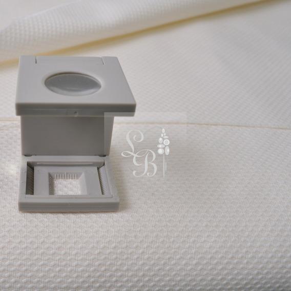 Lote Tecido Crepe Creme Texturizado 5,0x X Larg 1,40