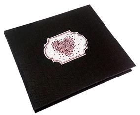 Caixa Rígida Com Álbum Coração Preto