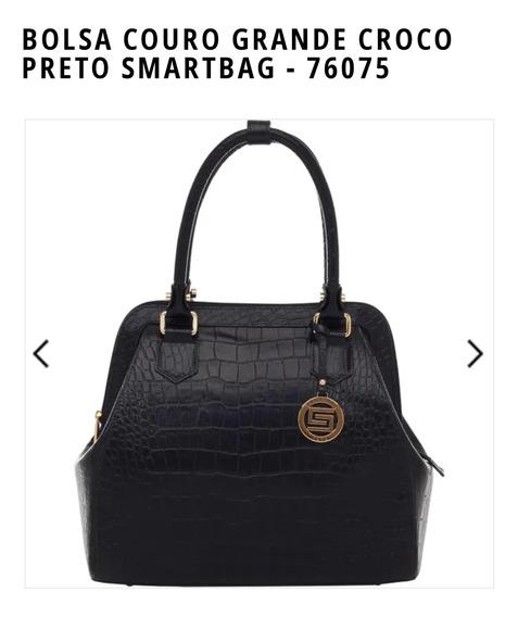 Bolsa Smartbag Couro Grande 76075