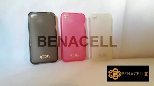Forro Acrigel Para iPhone 4s 2x1 Benacell