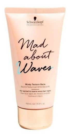Schwarzkopf Mad About Waves Balsamo Texturizante Ondas 150ml