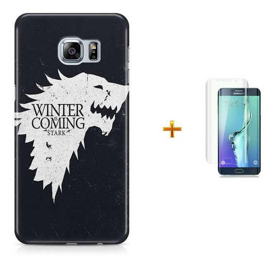 Kit Capa S6 Edge Game Of Thrones +pel.vidrbd1