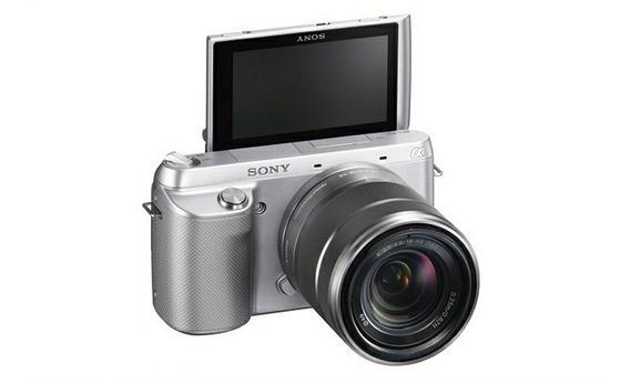 Câmera Sony Alpha Nex-f3 Profissional
