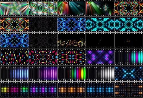 A2176 - 30 Loops Efeitos Resolume Efeitos Grandvj Painel Led